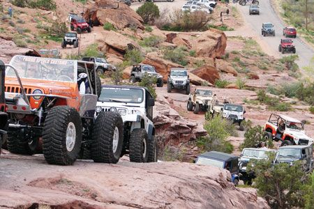 Jeep Easter Moab Safari
